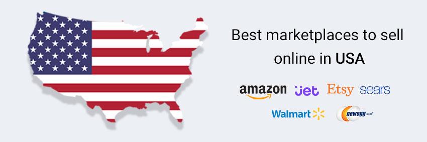 بازار تجارت الکترونیک آمریکا