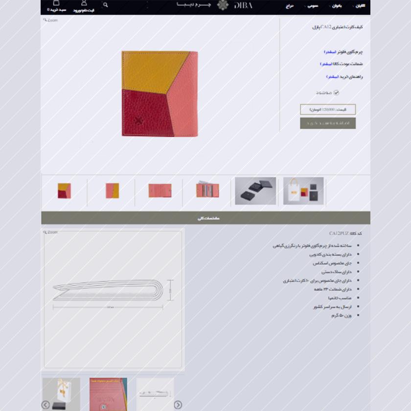 فواید طراحی سایت - نمایش خدمات و محصولات